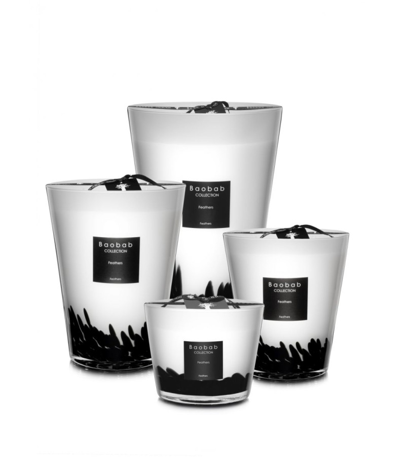 "Baobab Collection ""Feathers"" Max 16 žvakė"