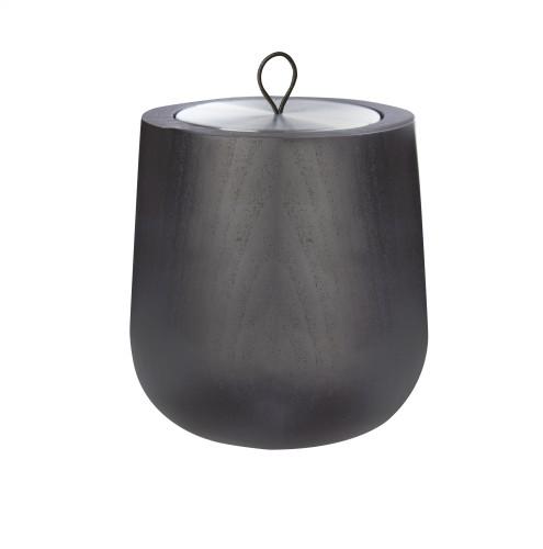 """Hypsoe juodo medžio įdėklo """"Lounge"""" žvakė"""