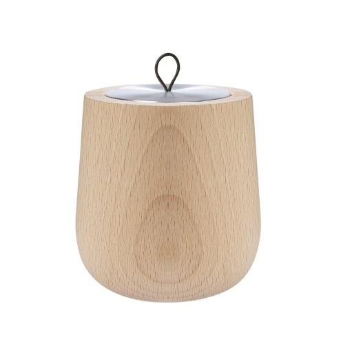 """Hypsoe šviesaus medžio įdėklo """"Cachemire"""" žvakė"""