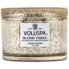 """Voluspa Vermeil """"Blond Tabac"""" žvakė dėžutėje"""