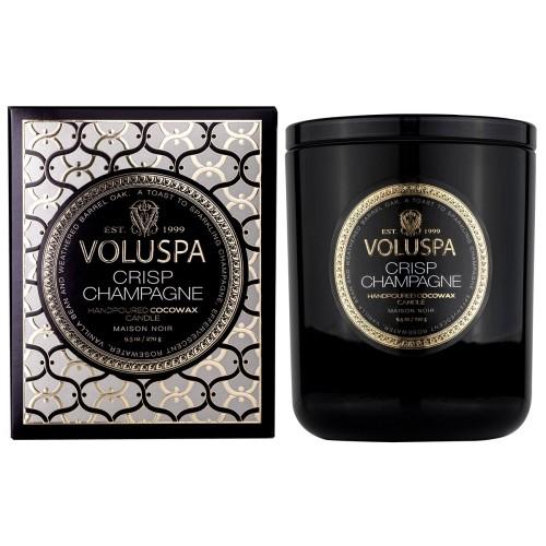 """NAUJIENA Voluspa """"Crisp Champagne"""" klasikinė žvakė dėžutėje"""